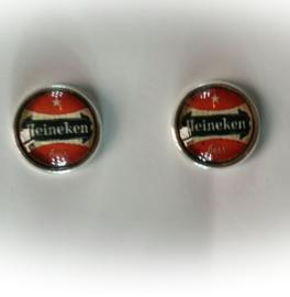 Manchetknopen - Heineken bierviltje retro