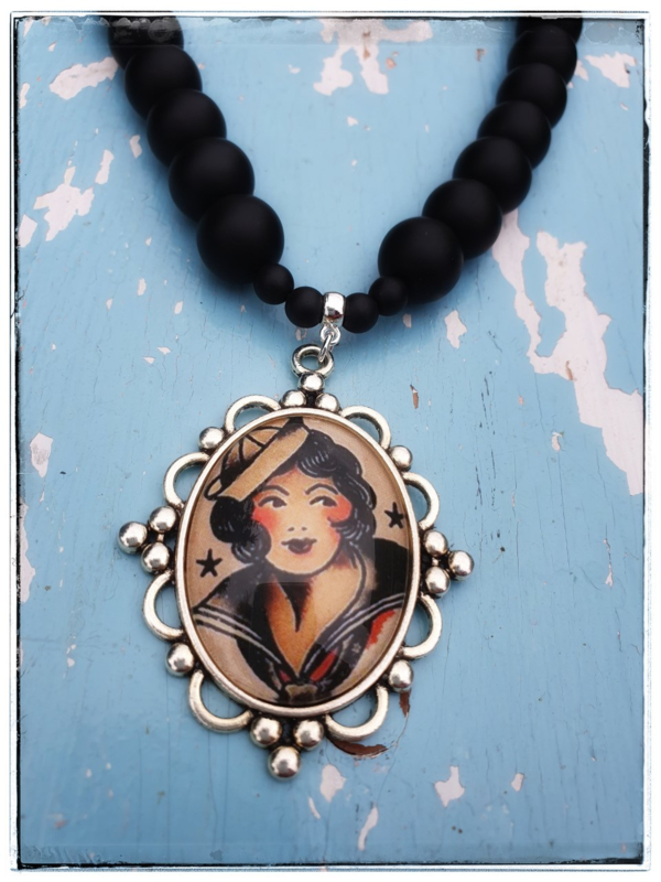 Ketting - Tattoo Navy Girl