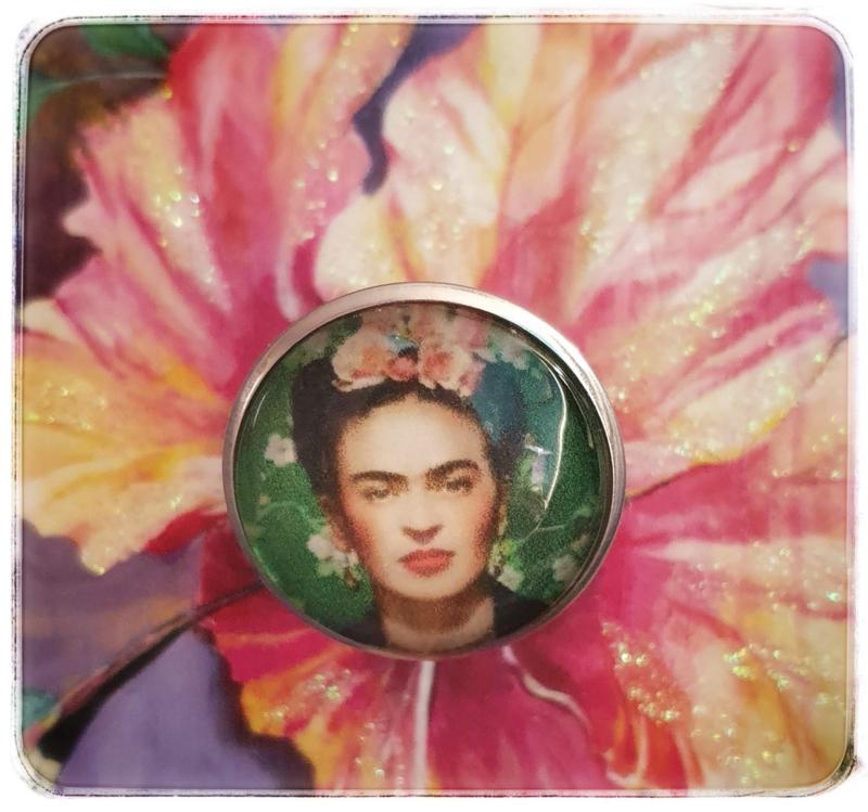 Ring - Frida Kahlo - Emerald green