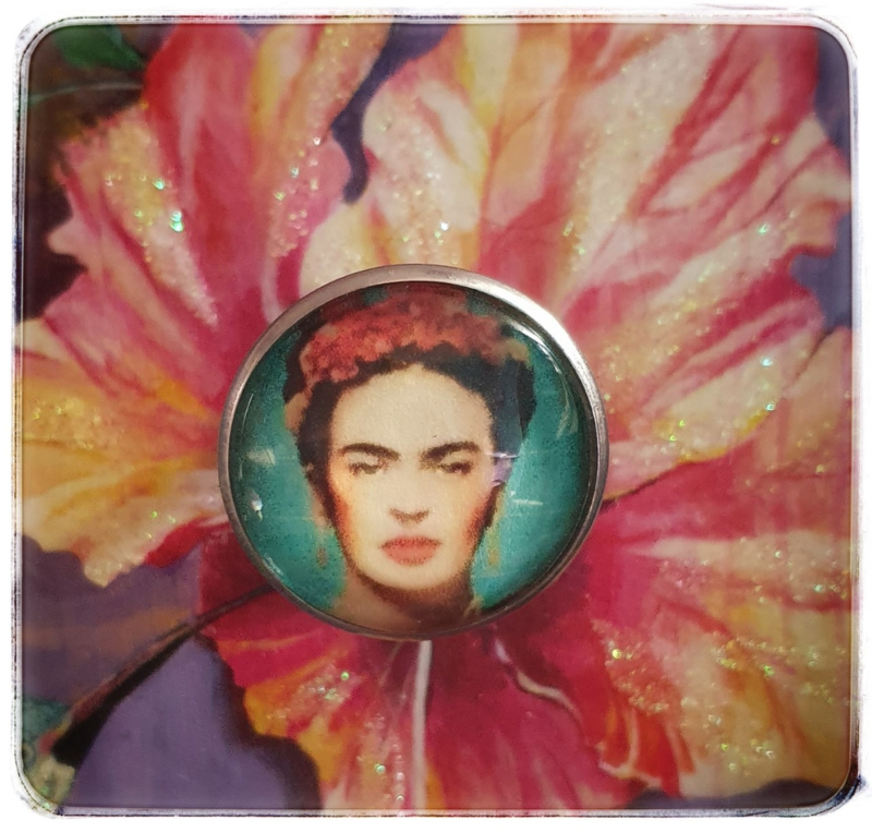 Ring - Frida Kahlo - Turquoise