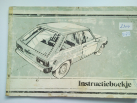 Talbot Horizon  Instructieboekje 80 #1 Nederlands