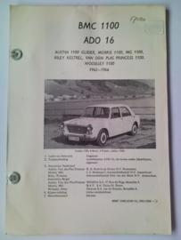 BMC 1100 Ado 16 Vraagbaak ATH 62-66 #2 Nederlands