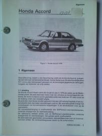 Honda Accord  Vraagbaak ATH 79 #1 Nederlands