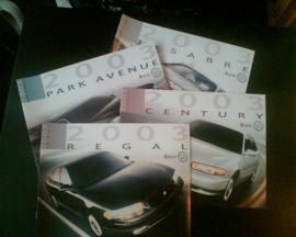 Buick Le Sabre Park Avenue Century Regal  Brochure .03 #2 Engels