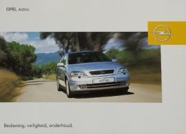 Opel Astra G  Instructieboekje 1998-04 #1 Nederlands