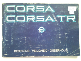 Opel Corsa A  Instructieboekje 83 #7 Nederlands
