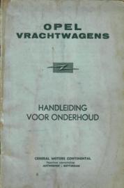 Opel Vrachtwagens  Instructieboekje jaar #2 Nederlands