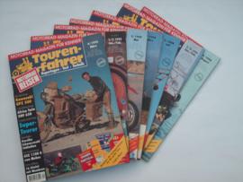 Touren-Farher Tijdschrift Touren-Fahrer 7 stuks #1 Duits