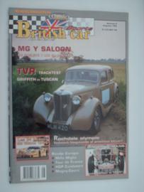 Britich Car Magazine  1996 NR 08 Tijdschrift  #1 Nederlands