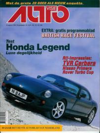 1996 Autovisie NR 18 tijdschrift