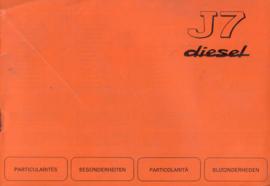 Peugeot 304  Instructieboekje 77 #1 Nederlands Duits Frans Italiaans