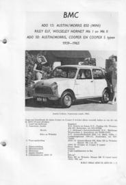 BMC Mini Ado 15 en Ado 50  Vraagbaak ATH 59-65 #2 Nederlands