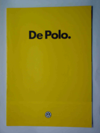 Volkswagen Polo  Brochure 84 #1 Nederlands