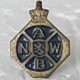 SP0128 Speldje ANWB (kleine kroon) [blauw]