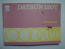 Datsun 120Y  Instructieboekje 75 #1 Nederlands