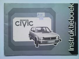 Honda Civic  Instructieboekje 79 #1 Nederlands