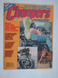 Choppers Tijdschrift 1979 Maart #1 Engels