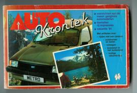 Auto Kroniek   Jaarboek 1981 #1 Nederlands