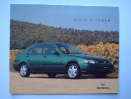 Honda Civic  Brochure 95 #1 Duits