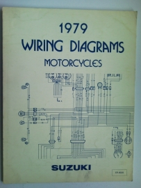 Suzuki Wiring Diagrams Motorcycles  Wiring diagrams 79 #1 Engels