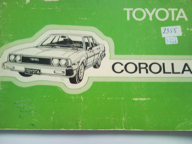 Toyota Corolla  Instructieboekje 82 #3 Nederlands