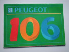 Peugeot 106  Brochure 92 #1 Nederlands