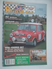 Britich Car Magazine  1996 NR 12 Tijdschrift  #1 Nederlands