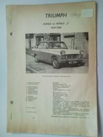 Triumph Herald S  Vraagbaak ATH 59-60 #3 Nederlands