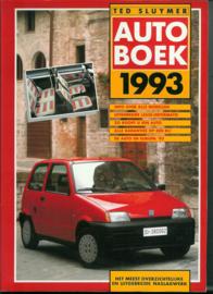 Autoboek   Jaarboek 1993 #1 Nederlands