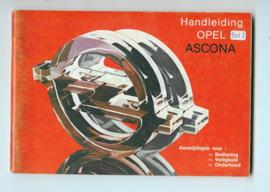 Opel Ascona C  Instructieboekje 81 #4 Nederlands