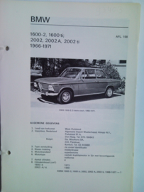 BMW 1600 2000  Vraagbaak ATH 66-71 #3 Nederlands