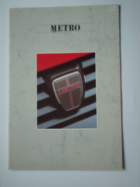 Austin Metro  Brochure 87 #5 Nederlands