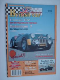 Britich Car Magazine  1996 NR 06 Tijdschrift  #1 Nederlands