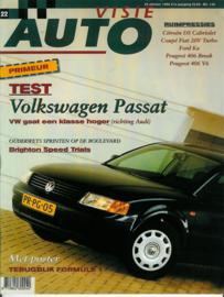 1996 Autovisie NR 22 tijdschrift