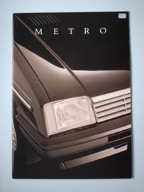 Austin Metro  Brochure 87 #6 Nederlands