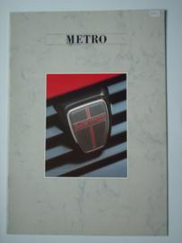 Austin Metro  Brochure 87 #2 Nederlands
