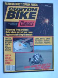 Costum Bike Choppers Tijdschrift 1992 Januari #1 Engels