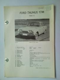 Ford Taunus  Vraagbaak ATH 60-62 #1 Nederlands