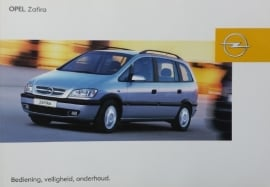 Opel Zafira A  Instructieboekje 2003 -09 #1 Nederlands