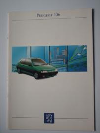 Peugeot 106  Brochure 93 #3 Nederlands