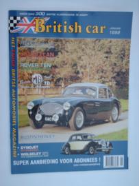 Britich Car Magazine  1998 NR 01 Tijdschrift  #1 Nederlands