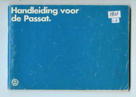 Volkswagen Passat  Instructieboekje 84 #3 Nederlands