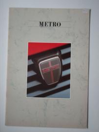 Austin Metro  Brochure 87 #1 Nederlands