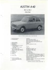 Austin A40 MK1 en MK2 Vraagbaak ATH 58-65 #1 Nederlands