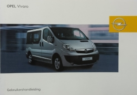 Opel Vivaro  Instructieboekje 2007 -01 #1 Nederlands