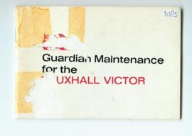 Vauxhall Victor  Onderhoudsboekje 66 #1 Engels