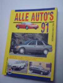 Alle Auto's   Jaarboek 1991 #1 Nederlands