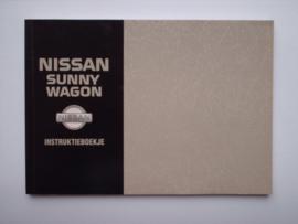 Nissan Sunny  Instructieboekje 92 #1 Nederlands