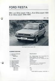 Ford Fiesta  Vraagbaak ATH 76-79 #3 Nederlands