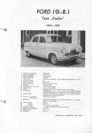Ford Zephyr  Vraagbaak ATH 53-55 #2 Nederlands